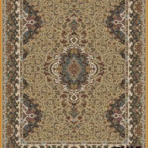فرش کاخ کد 10070 بادامی
