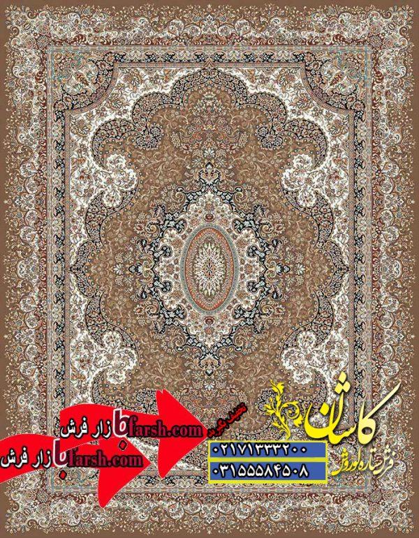 قیمت فرش کاشان ۵۰۰ شانه نقشه کشمیر