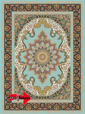 فرش 700 شانه طرح المیرا
