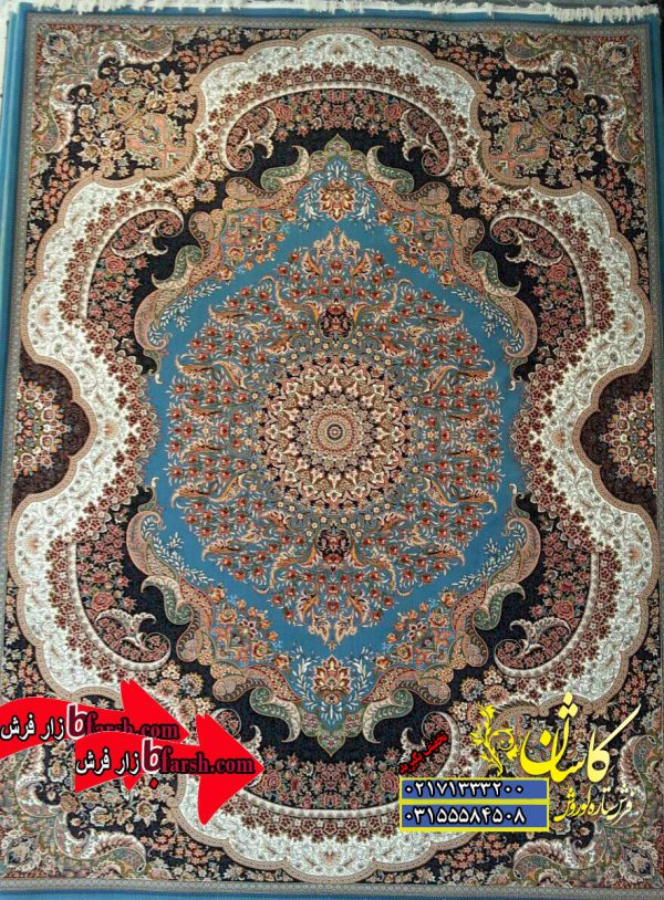 قیمت فرش کاشان 700 شانه طرح رهام