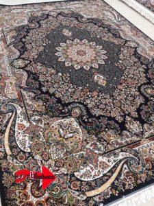 فرش700 شانه 10 رنگ نقشه ایدا | بازار فرش