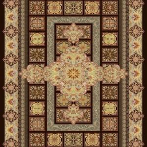 فرش تمام ابریشم مدل مسرور
