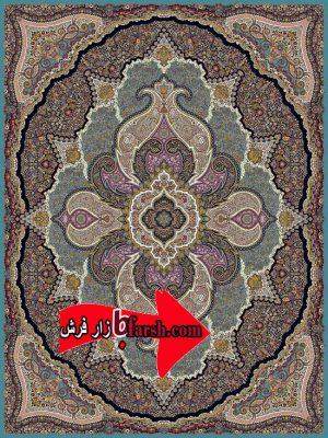 فرش 1200 شانه نگین مشهد کد1204