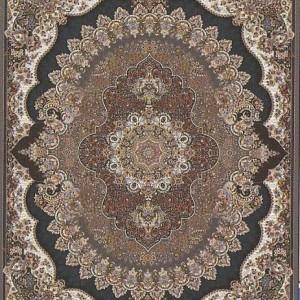 فرش کاشان طرح ارکیده گردویی