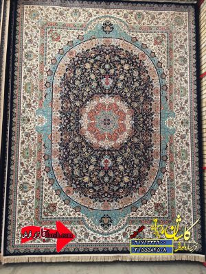 قیمت فرش ۱۲۰۰ شانه کاشان طرح بوستان