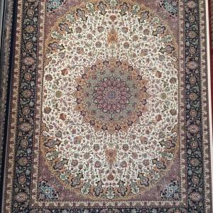 فرش 1200 شانه طرح اصفهان کرم