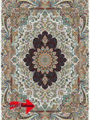 قیمت فرش کاشان 700 شانه نقشه ایدا کرم
