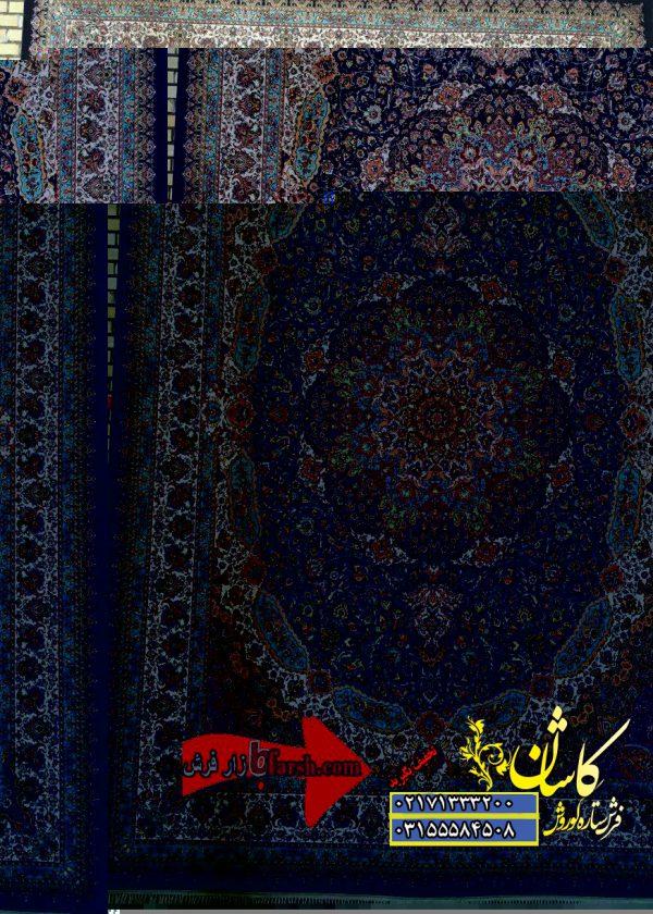فرش ۱۲۰۰ شانه کاشان طرح ستاره