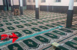 فرش سجاده ای مسجد موسی کاظم