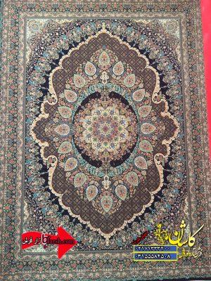 قیمت فرش ۱۲۰۰ شانه کاشان طرح جواهر