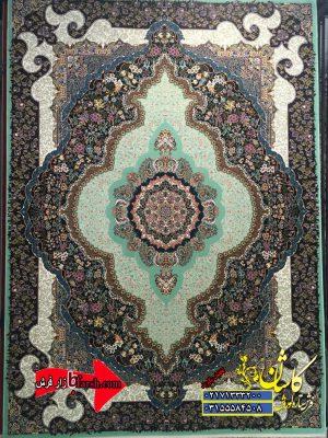 قیمت فرش کاشان 700 شانه طرح ترنم فسفری