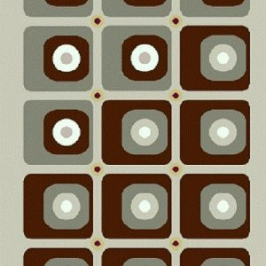 فرش فانتزی و اسپرت مدل اوا شکلاتی | بازار فرش فرش فانتزی | فرش اسپرت