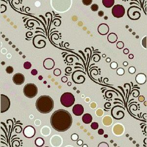 فرش فانتزی و اسپرت مدل سیما شکلاتی | بازار فرش فرش فانتزی | فرش اسپرت
