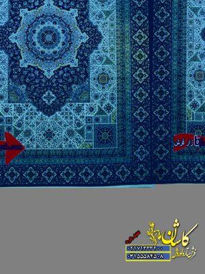 قیمت فرش ۱۲۰۰ شانه کاشان طرح جوشقان