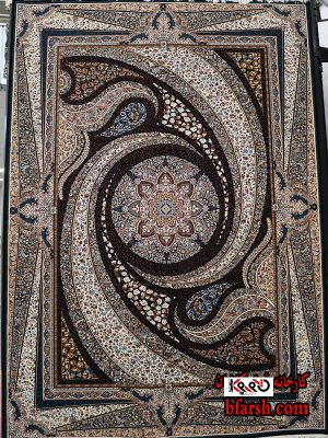 قیمت فرش کاشان 700 شانه طرح کهکشان