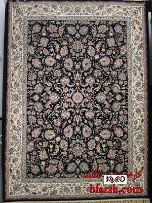 قیمت فرش ۱۲۰۰ شانه کاشان طرح افشان جدید