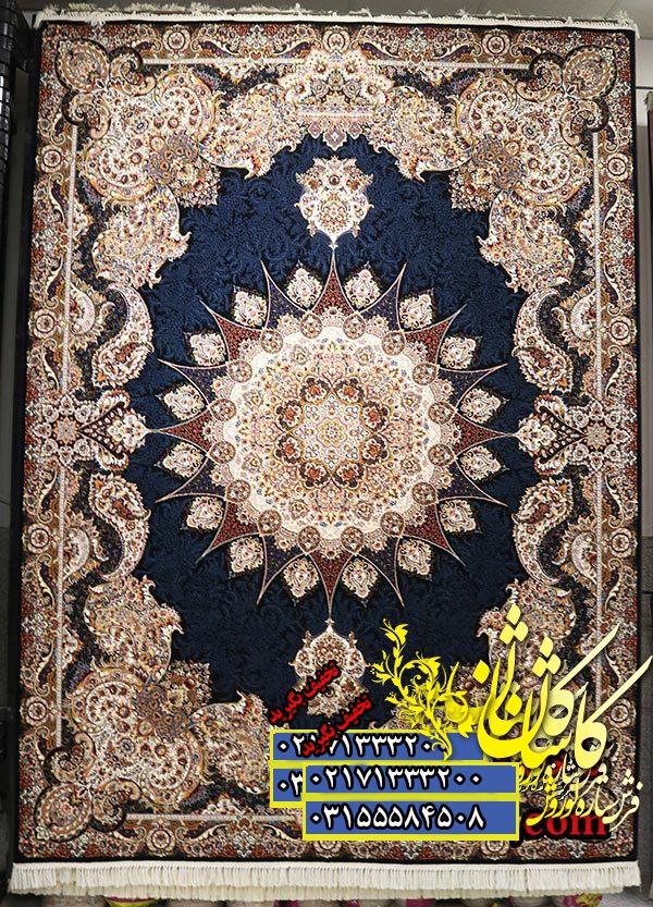 قیمت فرش کاشان 1000 شانه طرح اقاقی