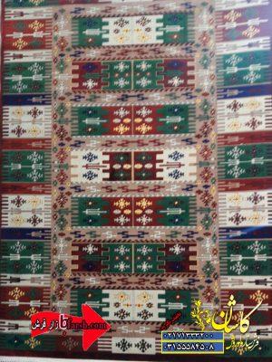 قالیچه ابریشمی طرح بختیاری