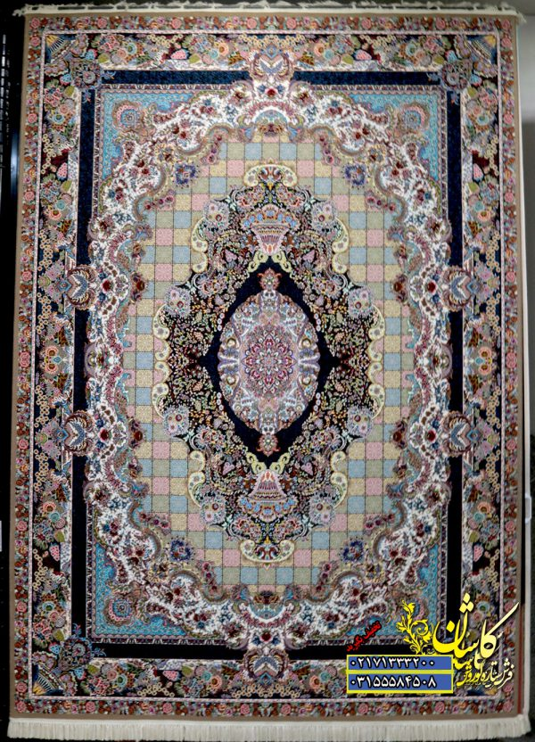 قیمت فرش کاشان 1000 شانه نقشه تندیس | قیمت فرش کاشان 1000 شانه نقشه تندیس
