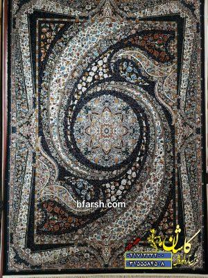 قیمت فرش کاشان ۵۰۰ شانه نقشه کهکشان