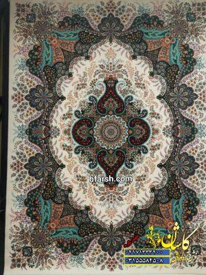قیمت فرش کاشان 700 شانه طرح اهورا