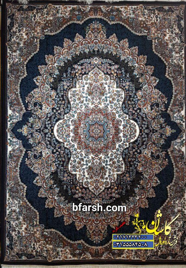 فرش کاشان طرح ارکیده   قیمت فرش ارکیده 500 شانه   فروش فرش طرح ارکیده