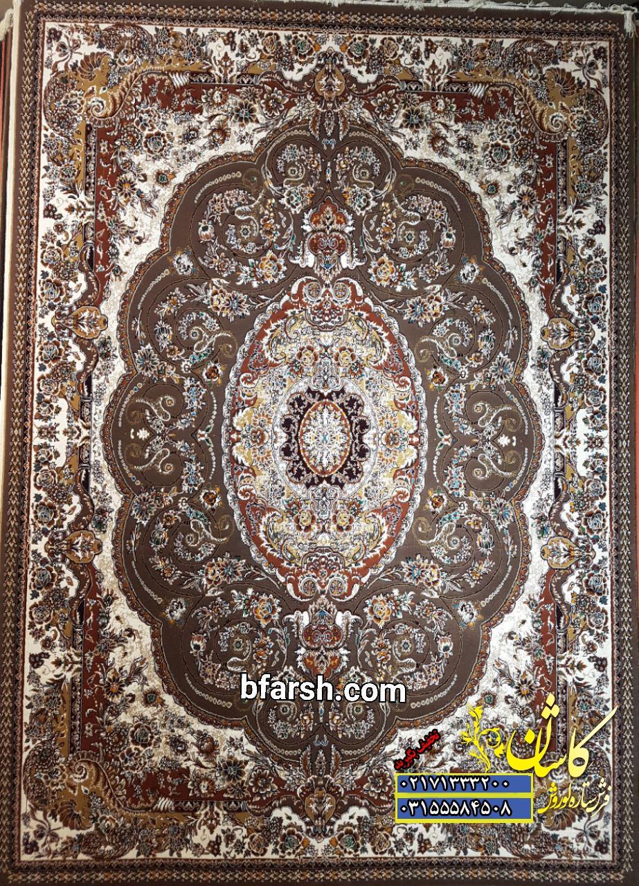 فرش کاشان طرح پگاه  قیمت فرش پگاه 500 شانه   فروش فرش طرح پگاه