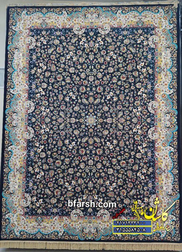 قیمت فرش ۱۲۰۰ شانه کاشان طرح می گل