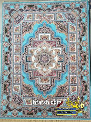 قیمت فرش ۱۲۰۰ شانه کاشان طرح حوض نقره