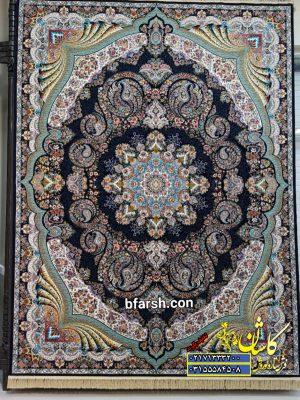 قیمت فرش ۱۲۰۰ شانه کاشان طرح گیسو