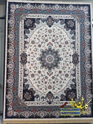 قیمت فرش ۱۲۰۰ شانه کاشان طرح نامیان