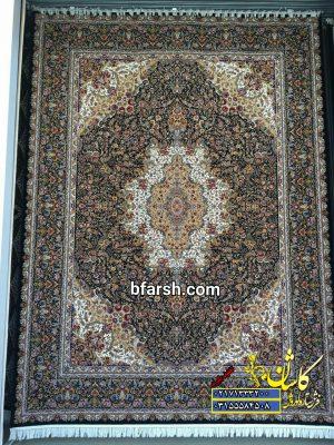 قیمت فرش کاشان 1000 شانه طرح آلاله