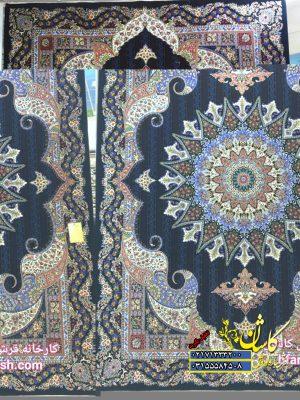 قیمت فرش کاشان 700 شانه طرح پری ماه