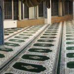 فرش سجاده کاشان در نمازخانه رفاه دانشجویی
