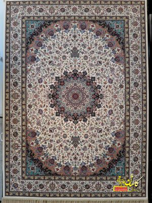 قیمت فرش ۱۲۰۰ شانه کاشان طرح نایین