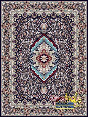 قیمت فرش ۱۲۰۰ شانه کاشان طرح فریبا