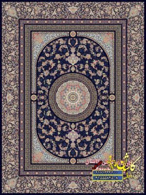 قیمت فرش کاشان ۱۲۰۰ شانه طرح سفیر