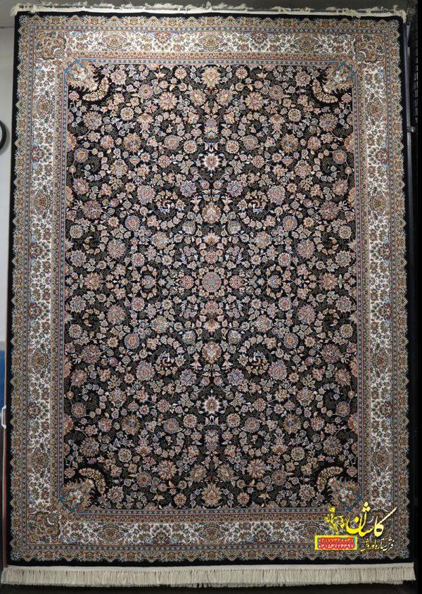 قیمت فرش کاشان 700 شانه طرح افشان درباری