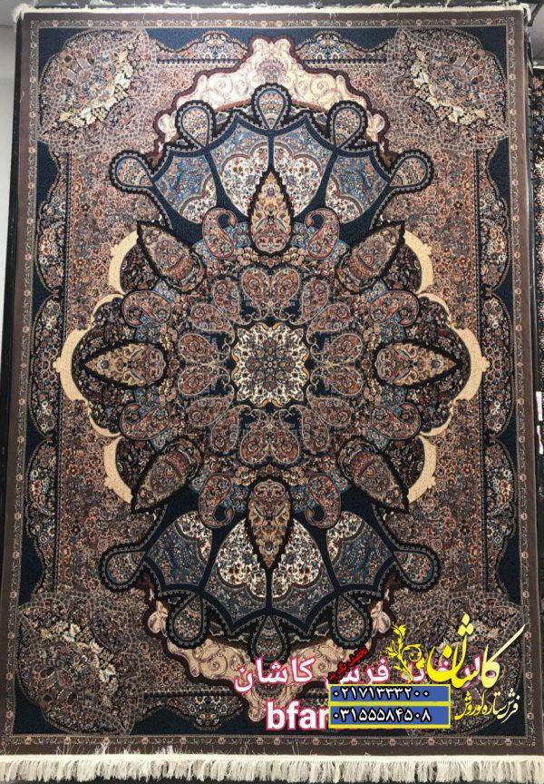 قیمت فرش کاشان 700 شانه طرح تاج گردویی