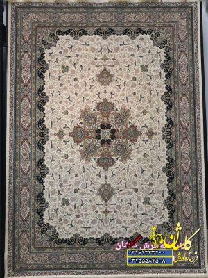 فرش گل برجسته 1200 شانه طرح فلورا