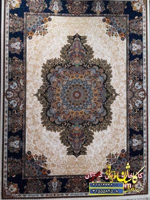 قیمت فرش کاشان 700 شانه طرح الیسا کرم