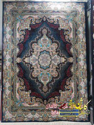 قیمت فرش کاشان 700 شانه طرح اورانوس