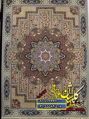 قیمت فرش کاشان 1200 شانه طرح تابان