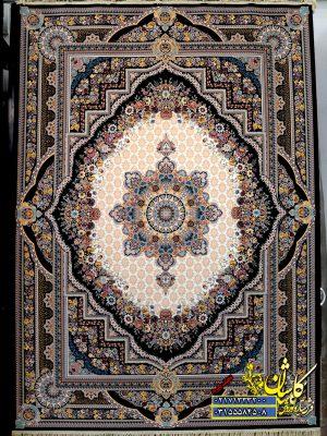 قیمت فرش ۱۲۰۰ شانه کاشان طرح بهشت