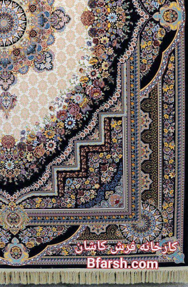 قیمت فرش کاشان 1200 شانه طرح بهشت