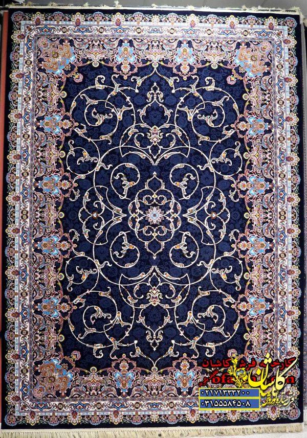 قیمت فرش کاشان 700 شانه نقشه افشان اسلیمی