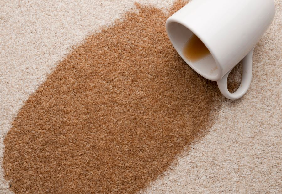 از بین بردن لکه چای روی فرش   رفع لکه چای از روی فرش