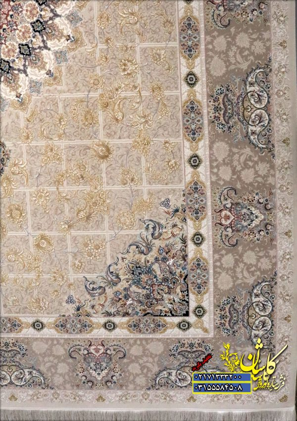 فرش-پیچک-کرم-1200-شانه-برجسته