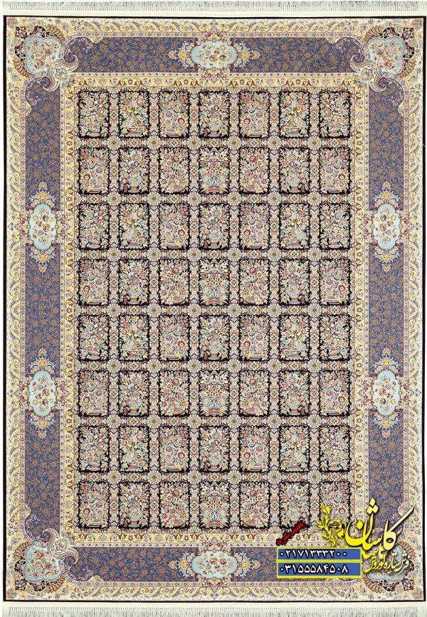 فرش کاشان طرح خشتی 1200 شانه