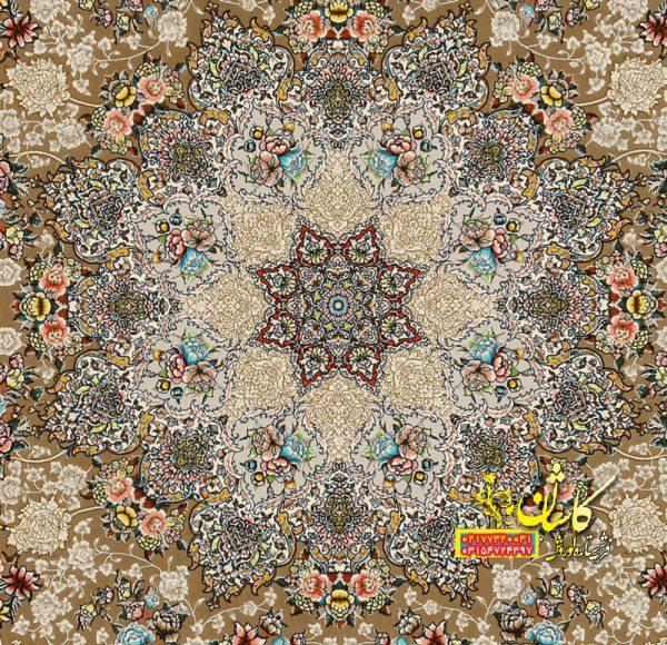 فرش برجسته مدل ساری گل